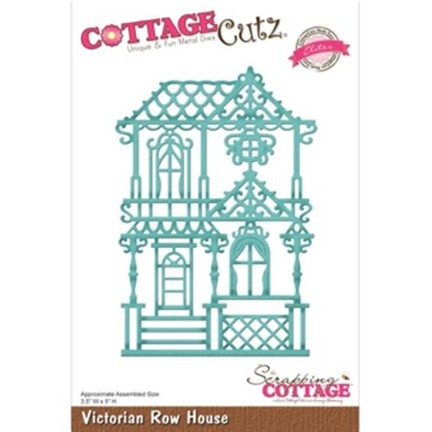 Cottage Cutz Elites Victorian Row House Cutting Die New Cottage Cutz Dies
