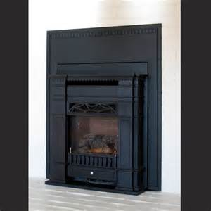 metal fireplace surround images