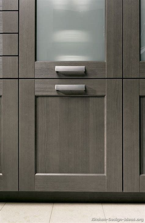 contemporary kitchen cabinet doors 25 best ideas about gray stained cabinets on pinterest