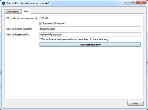 resetting wifi password on gopro hero 4 gopro hero 4 wifi password