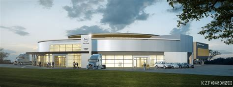 volvo truck tech support volvo breaks ground on new customer experience center at
