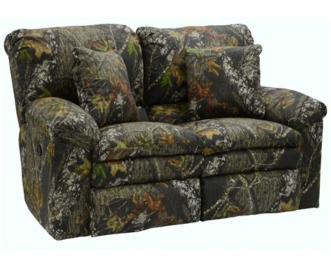 mossy oak couch catnapper duck dynasty trapper reclining sofa set mossy