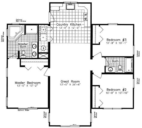chesapeake floor plan chesapeake nna 1295 square foot ranch floor plan