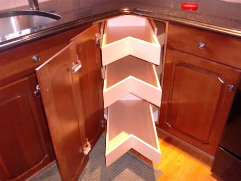 lazy susan cabinet organizers kitchen corner unit lazy susans glide arounds portland by