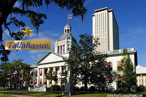 state capitols tallahassee florida postcard