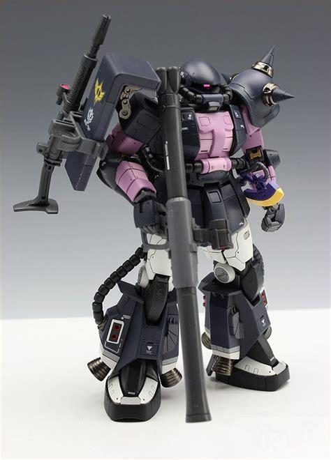 Kaos Gundam Mobile Suit 68 rg 1 144 ms 06r 1a zaku ii black tri ver zaku
