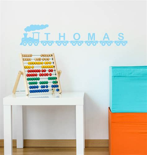 personalised vinyl wall stickers personalised vinyl wall sticker by oakdene designs
