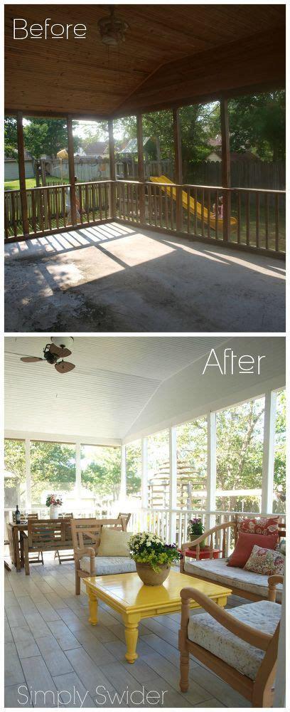 screened porch makeover rough concrete floor best 20 porch flooring ideas on pinterest outdoor patio