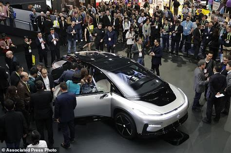 Electric Car Company Las Vegas Faraday Future Abandons Vegas Megafactory Amid Funding