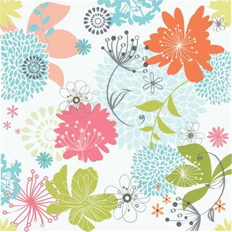 flower pattern design vector floral pattern free vector in adobe illustrator ai ai