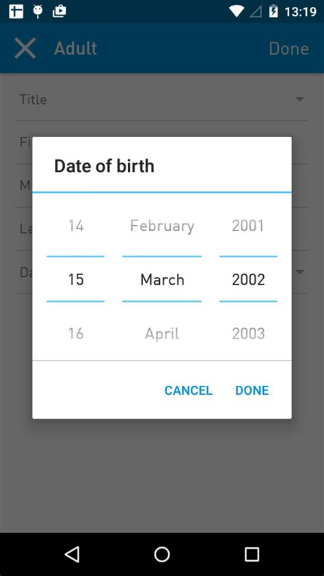 android date picker java android marshmallow custom calendar date picker stack overflow