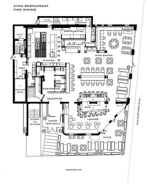 restaurant layout floor plan sles fine dining restaurant floor plan thefloors co