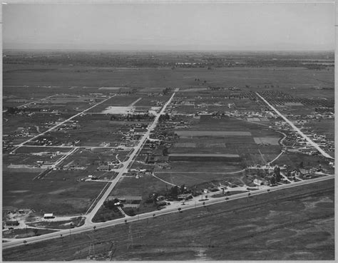 Sutter County Records File Olivehurst Sutter County California Another Air View Of Olivehurst Tract