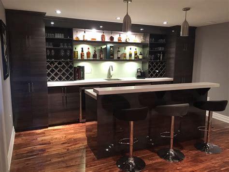 moderne bar high gloss modern basement bar modern home bar
