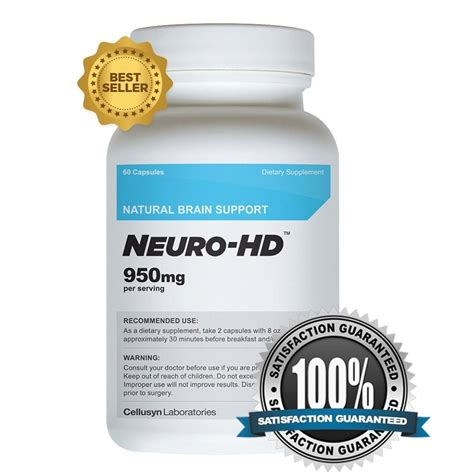 supplement for memory neuro hd best brain supplement for focus memory and