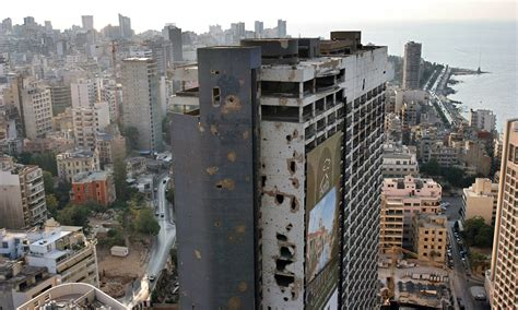 To In Beirut Beirut S Bullet Riddled Inn A History Of Cities In 50 Buildings Day 28 Cities The