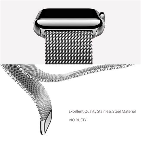 Apple Iwatch 38mm Stainless Steel apple band magnetic milanese loop stainless steel