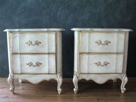 Provincial Nightstand Dresser Set In Driftwood Antique Walnut General Finishes Provincial Nightstands Pair Painted Dressers Set Of Two Belgian
