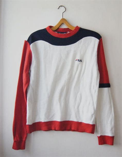 Fila Sweater Gloria White 77 best images about fila on outfitters