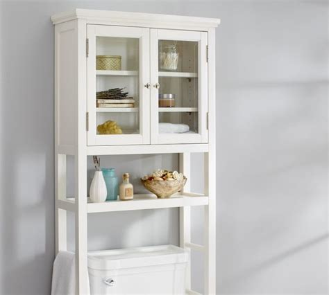 bathroom shelves toilet classic the toilet 201 tag 232 re traditional bathroom cabinets and shelves by pottery barn