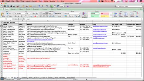 wedding schedule template excel metonymy media i m more excited about spreadsheets than