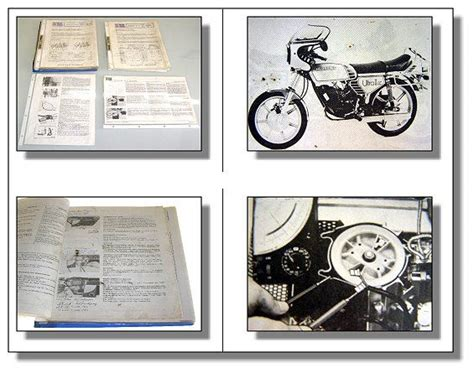 Sachs Motor Service by Sachs Service Releases Wiring Diagrams 1975 1986 Ebay