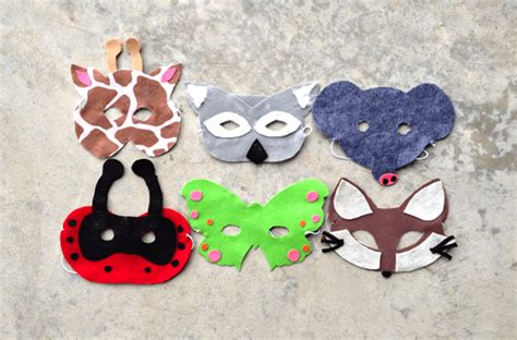 Handmade Animal Masks - image gallery handmade animal masks