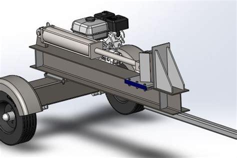 Wood Splitter Plans.com