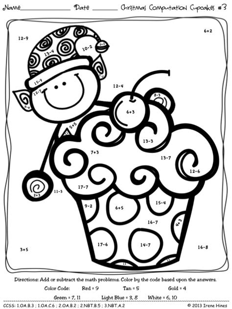christmas coloring pages with math problems christmas coloring math worksheets christmas coloring