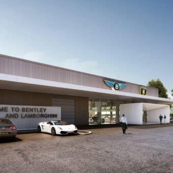 Schemel Und Wirtz Luxembourg by Showroom Bentley Lamborghini Schemel Wirtz Architectes