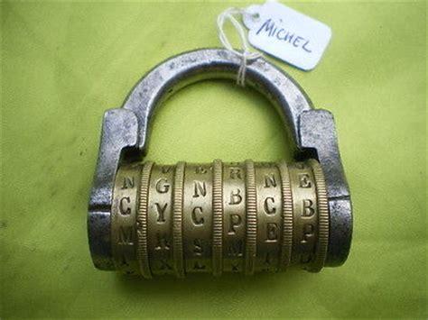 cadenas à code lettres antique padlocks antique price guide