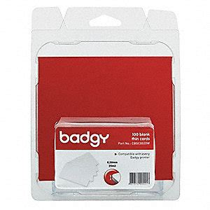 Grainger Gift Card - badgy blank id cards 20 mil 38ev79 cbgc0020w grainger