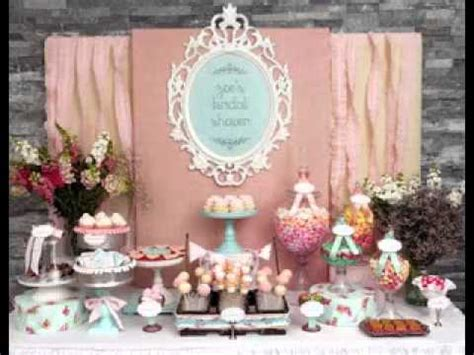 Baby shower candy table decorations ideas   YouTube