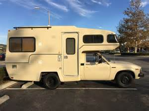 Toyota Motorhomes Used Rvs 1983 Toyota Sunrader Rv For Sale For Sale By Owner