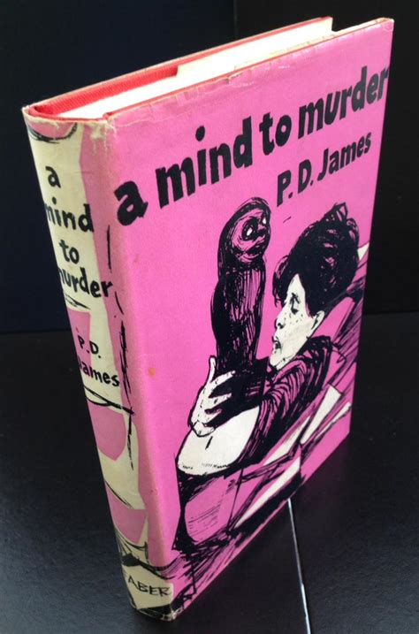 A Mind To Murder a mind to murder signed by both p d and roy marsden