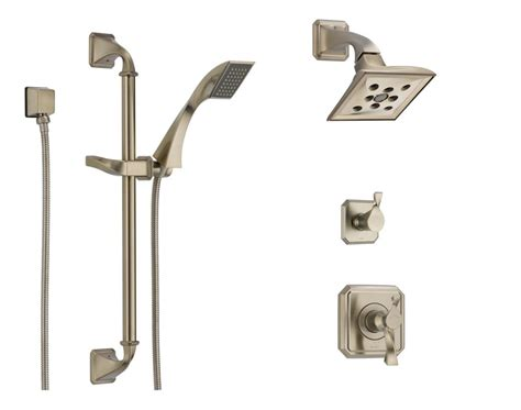 Brizo Shower Systems faucet bv845 bn in brilliance brushed nickel by brizo