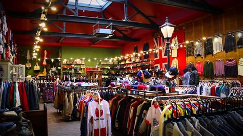 a tour of blitz vintage clothing shop in