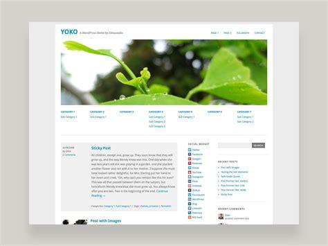 blogger themes kostenlos yoko wordpress theme elmastudio