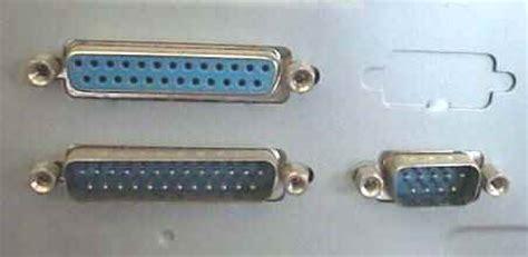 porta parallela pc la piedinatura connettore rs 232 pc