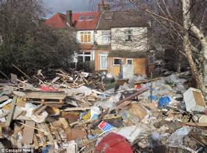 tips house what a rubbish house homeowner collected 5ft deep waste