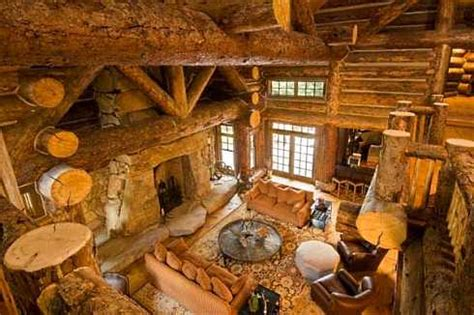 interior design pictures log cabins