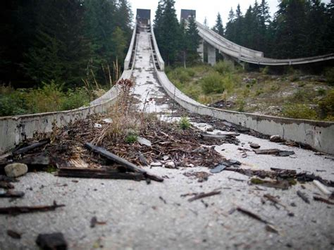olympics venues what abandoned olympic venues from around the world look
