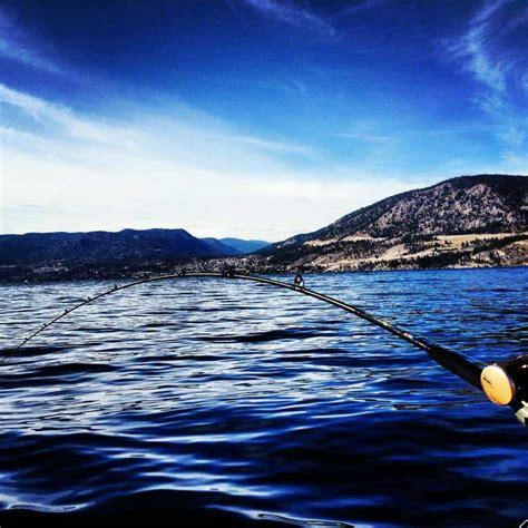 fishing boat kelowna okanagan lake fishing bc fishn