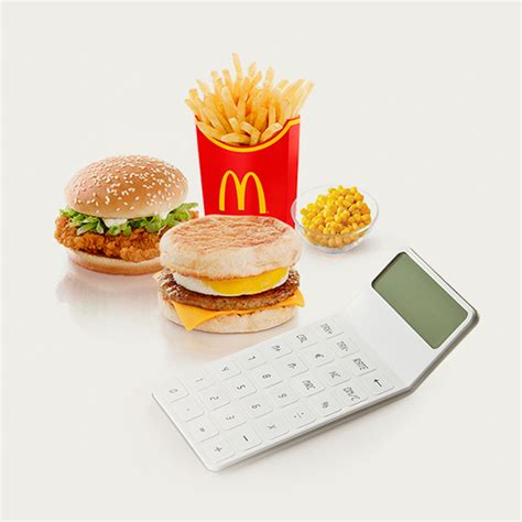 food calculator nutrition calculator mcdonald s 174