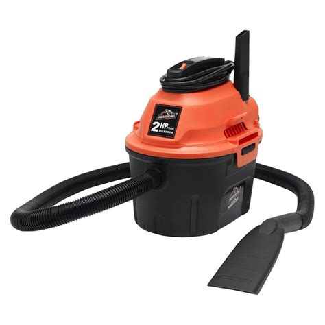 Vacuum Cleaner Merk Orange armor all utility 2 5 gal 2 hp vacuum orange