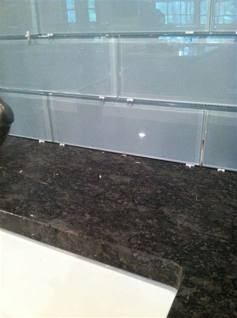 grouting glass backsplash grout color white avalanche or light grey
