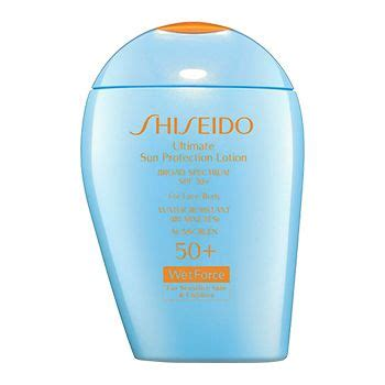 Shiseido Sunscreen shiseido ultimate sun protection spf 50 sunscreen