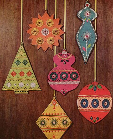 Handmade Decorations Patterns - 30 handmade ornaments decoration ideas 2014