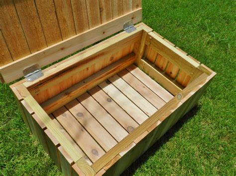 deck storage bench plans wood deck storage bench plans