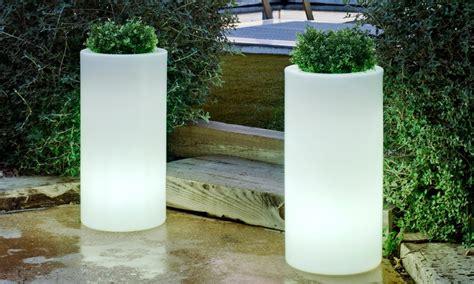 vasi luminosi vasi luminosi per esterno e interno groupon goods